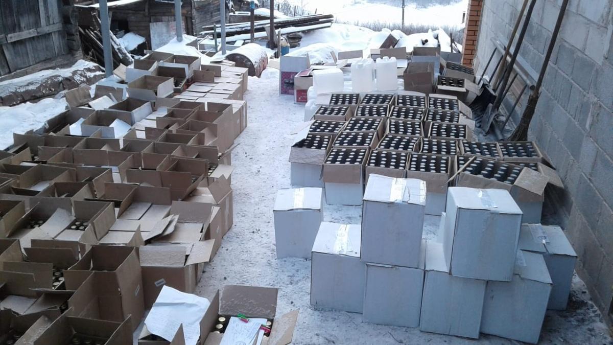 Из Юрюзани ящики с водкой развозили в магазины по всей горнозаводской зоне