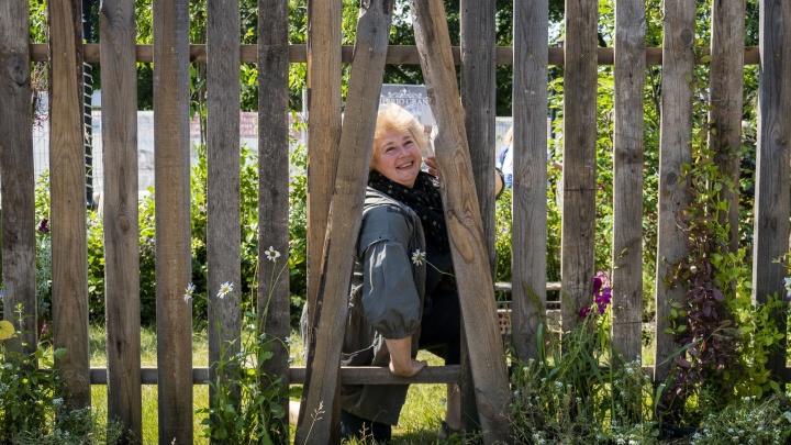 Деревянный забор с дыркой получил Гран-при на новосибирском фестивале ландшафтного дизайна