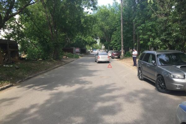 В Самаре девочку сбили на проспекта Карла Маркса