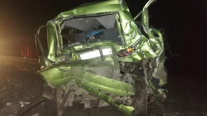 В ГИБДД рассказали подробности аварии под Каменском, где женщина на Matiz снесла «газель» с детьми