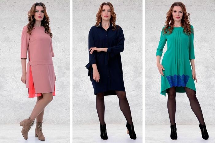 «Вералина» презентует одежду от швейных домов России и Белоруссии для модниц до 76-го размера
