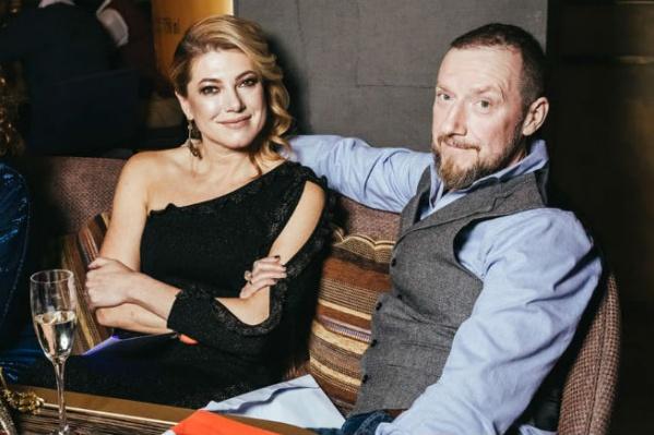 Маша Варламова с мужем Андреем, они вместе с седьмого класса