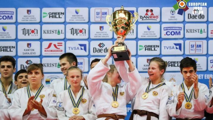 Южноуральские дзюдоистки помогли сборной России победить на первенстве Европы