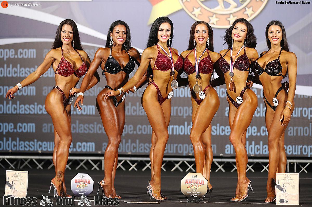Спортсменка-«бикини» из Екатеринбурга выиграла золото турнира Arnold Classic Europe