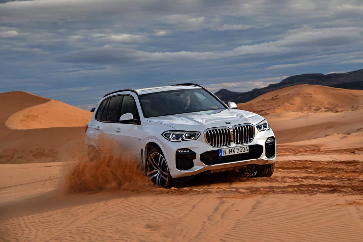 BMW показала новый «Икс пятый» — Audi изобрела Q8