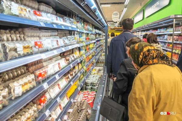 Прожиточный минимум рассчитывают в том числе от стоимости продуктов питания