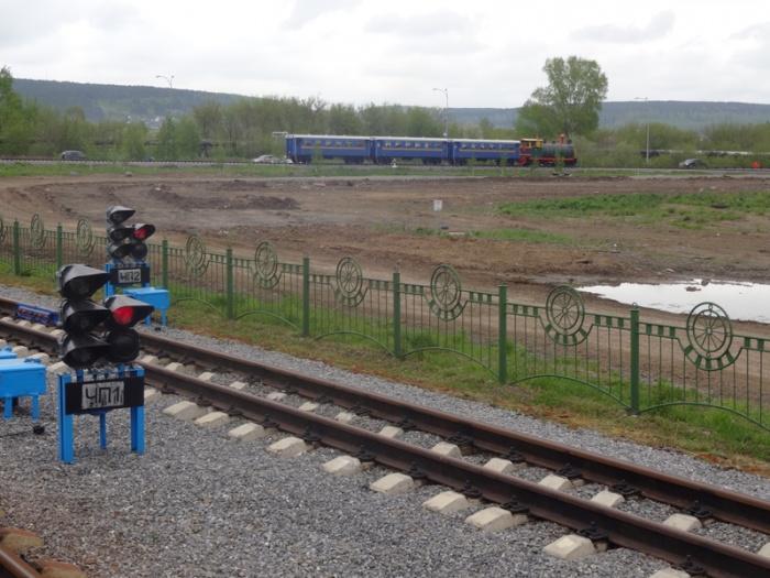 Детская железная дорога в Кемерово открыла новый сезон