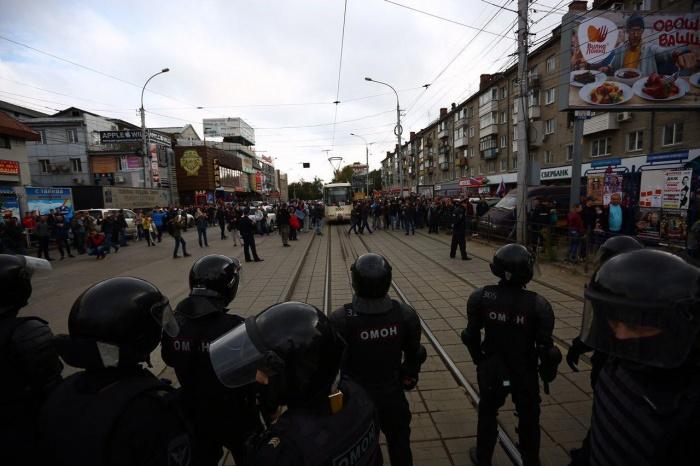 МВД объяснило жёсткий разгон митинга 9 сентября