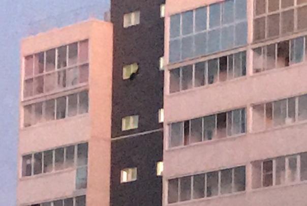 «Говорили два часа»: пожарные спасли челябинца от падения с девятого этажа