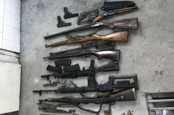 Оружие поисковики прятали в своих квартирах и у родственников