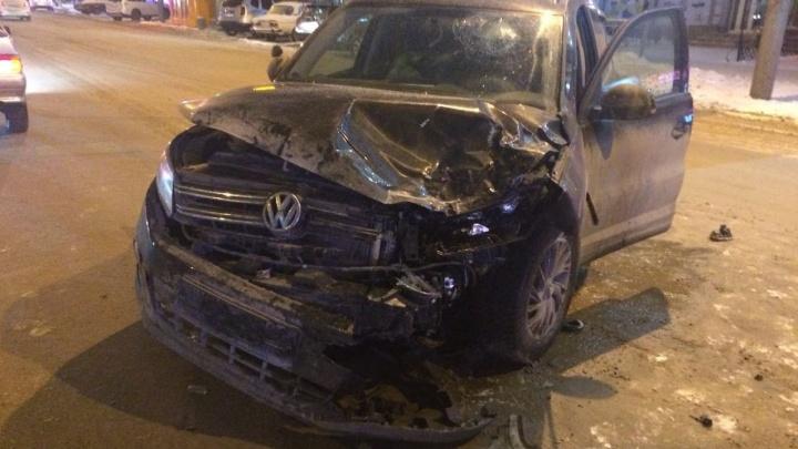 Пьяный водитель устроил массовое ДТП в центре города