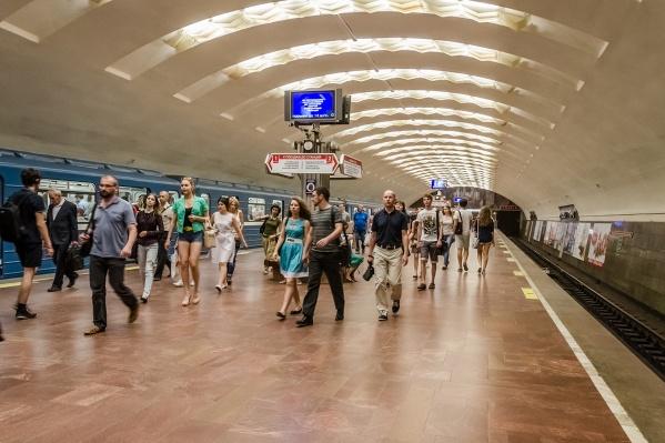 Инцидент произошёл на станции«Площадь Ленина»