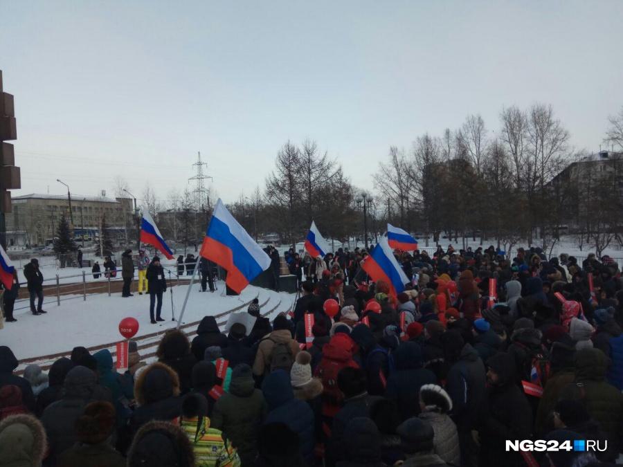 ВСамаре началась митинг-забастовка приверженцев Алексея Навального