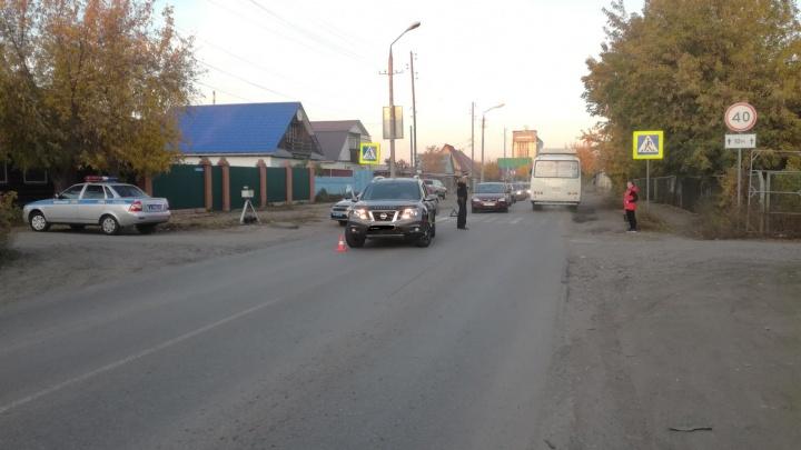 В Кургане на улице Омской сбили 11-летнего ребенка