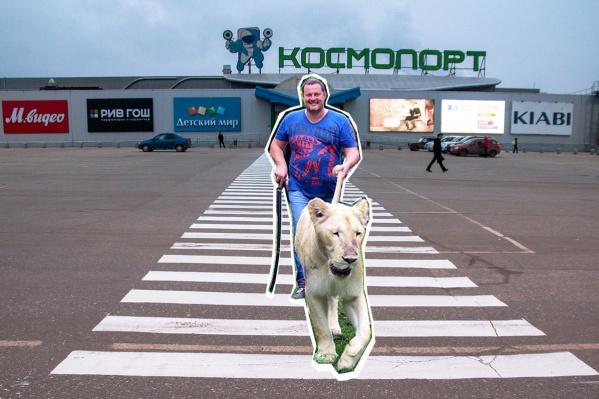 Алексей Шаповалов владеет землей, расположенной рядом с ТЦ