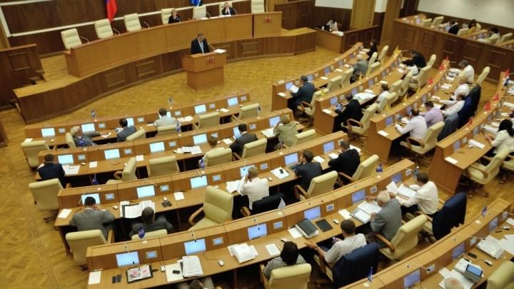 Восемь человек подали заявки на конкурс министров Свердловской области