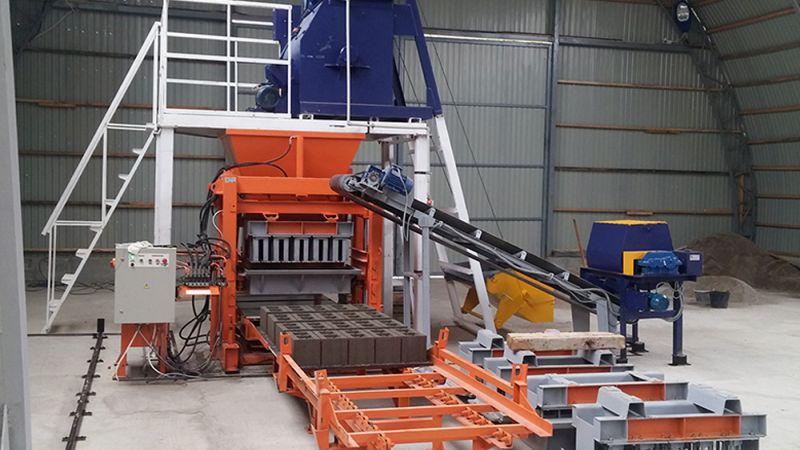Предприятие занимается производством оборудования для строительства