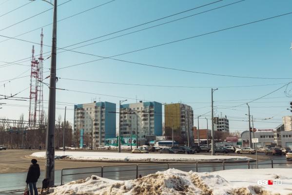 По проекту в этом месте Московское шоссе соединят с Ново-Садовой