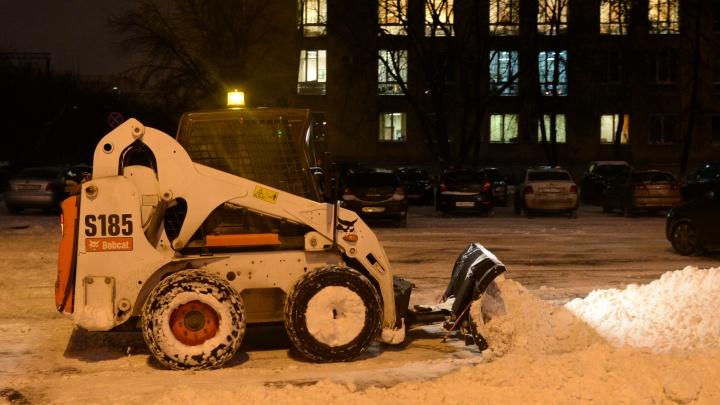На следующей неделе рядом с железнодорожным вокзалом будут эвакуировать авто, мешающие уборке снега