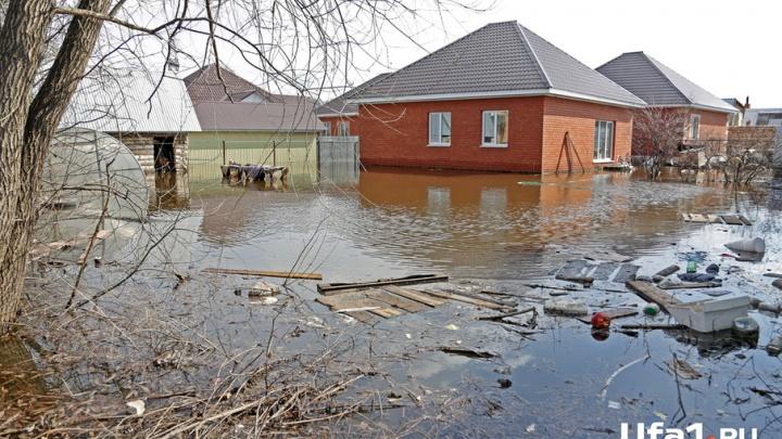 Половодье-2017: река Белая в Уфе показала существенное снижение за сутки