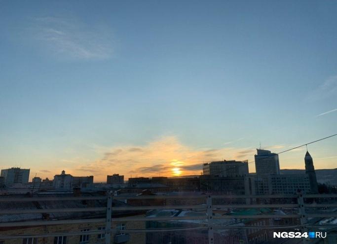 Необычайно теплая погода придет в Красноярск на выходные