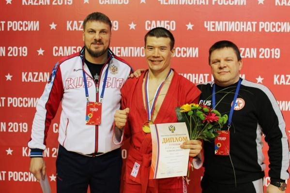 Степан стал первым чемпионом России за всю историю самбо в регионе