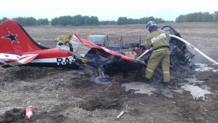 Лётчики погибли: самолёт участников авиашоу в Мочище разбился на Алтае