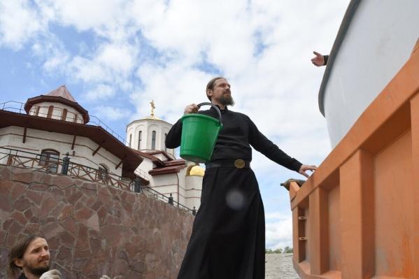 Стерлядь в монастыре разводят с 2014 года
