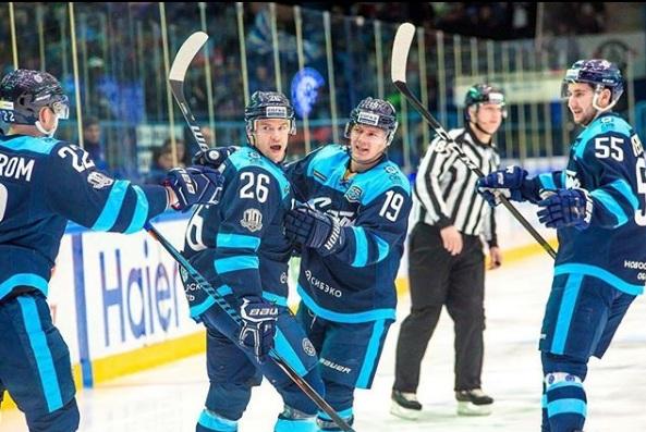 Из «Сибири» в Корею: нападающий новосибирского хоккейного клуба поедет на Олимпиаду