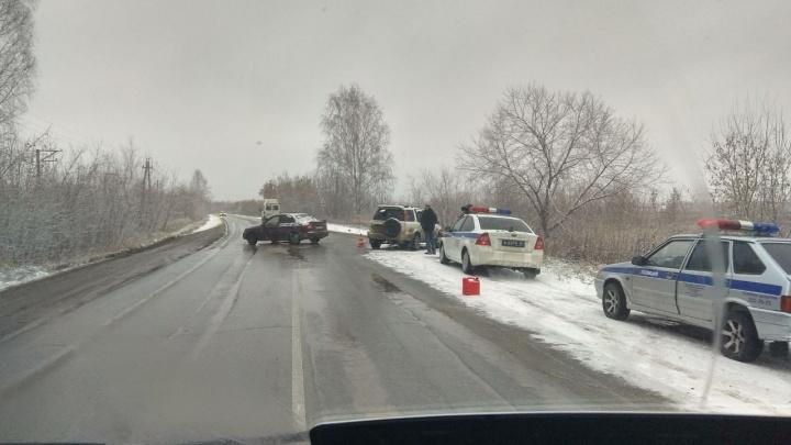 Пенсионерка пострадала в ДТП на Пашинском шоссе