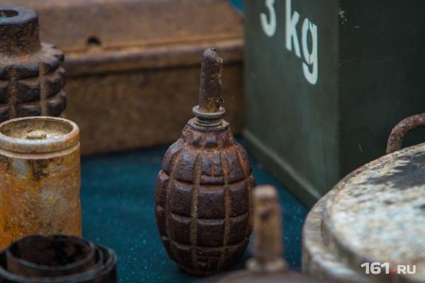 На реке Миус часто находят снаряды временВеликой Отечественной войны