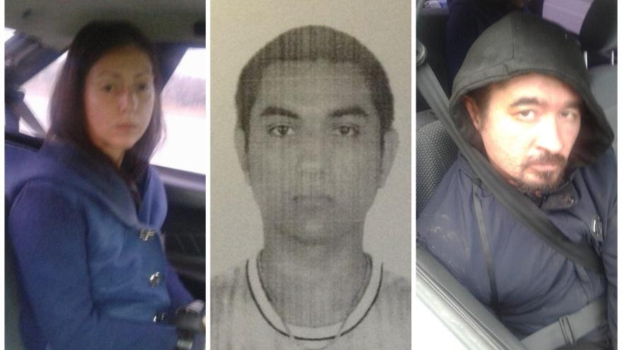Следователи опубликовали фотографии всех подозреваемых в убийстве Ксении Каторгиной