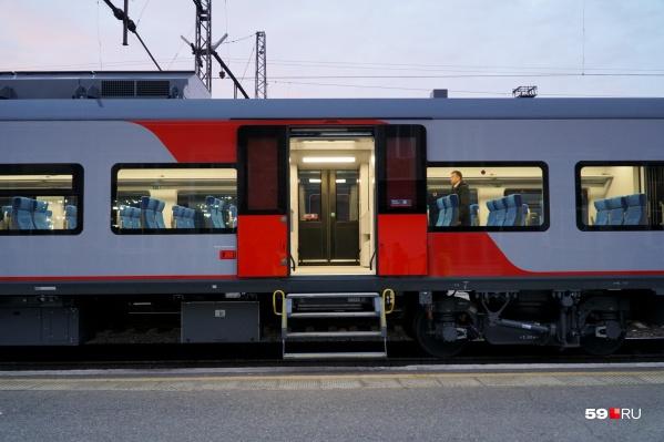 В «Ласточке» до Екатеринбурга пять сидячих вагонов