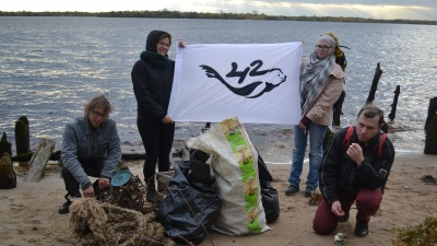 «69% собранного — пластик»: лидер экодвижения «42» о мусоре, который загрязняет Северную Двину