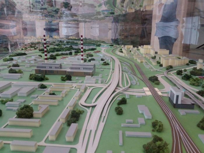 Проект развязки на пл. Энергетиков в Ленинском районе