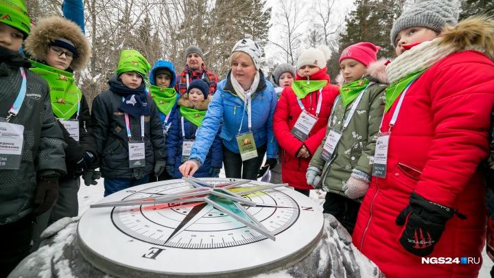 На «Столбах» открыли познавательную экотропу для детей