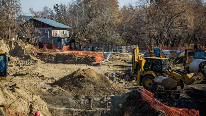 «Вас всё равно снесут»: в Новосибирске незаметно начали строить четвёртый мост