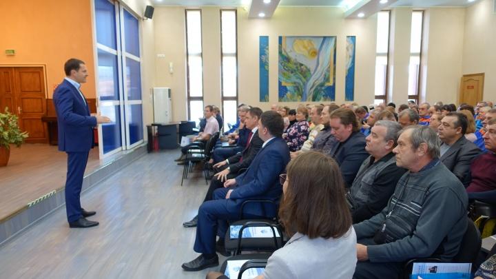 «Ярославльводоканал» посетил исполняющий обязанности мэра Ярославля Владимир Волков