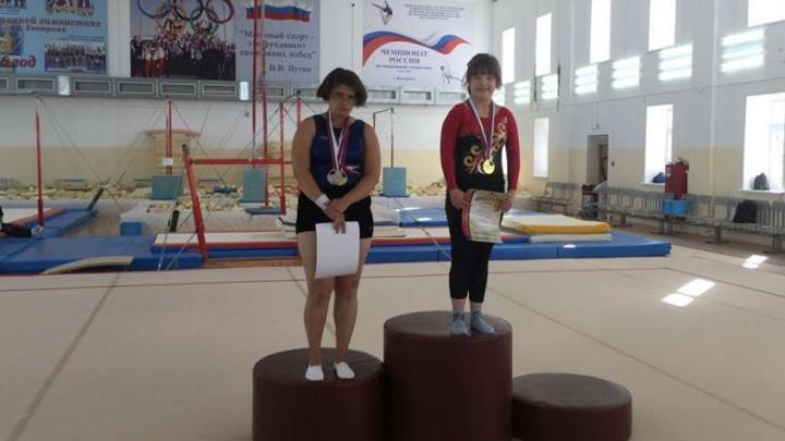 Челябинская гимнастка с синдромом Дауна стала абсолютной чемпионкой России
