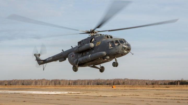 Подарок на Новый год: южноуральские военные лётчики получили восемь новых вертолётов Ми-8