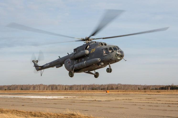 Вертолёты будут задействованы в спасении космонавтов