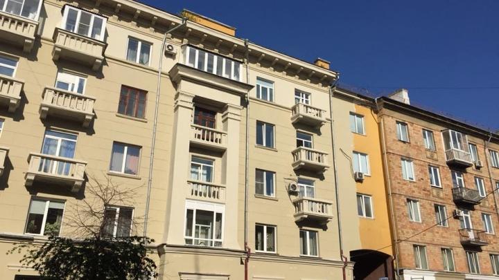 «Цвета голубиного помёта»: красноярцы раскритиковали новую окраску домов на проспекте Мира