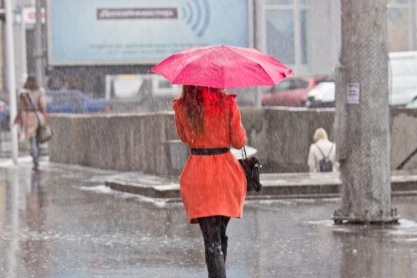 Синоптики обещают дожди на всю неделю
