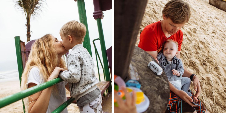 Марии и её детям нравится то, как к ним по-доброму относятся вьетнамцы