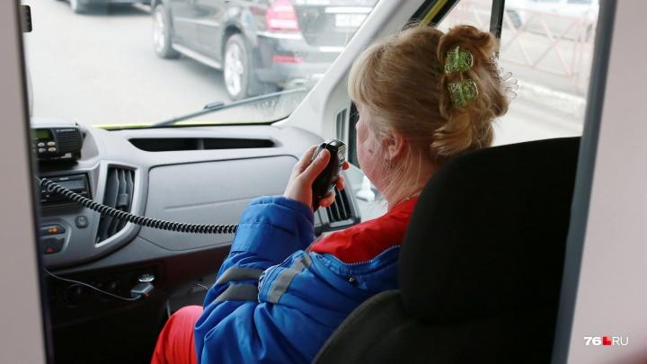 В Ярославле на Чкалова иномарка сбила мужчину