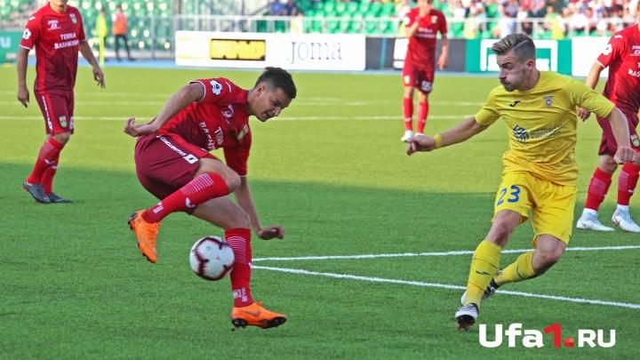 Ждем матча «Уфы» с «Динамо-Москва»