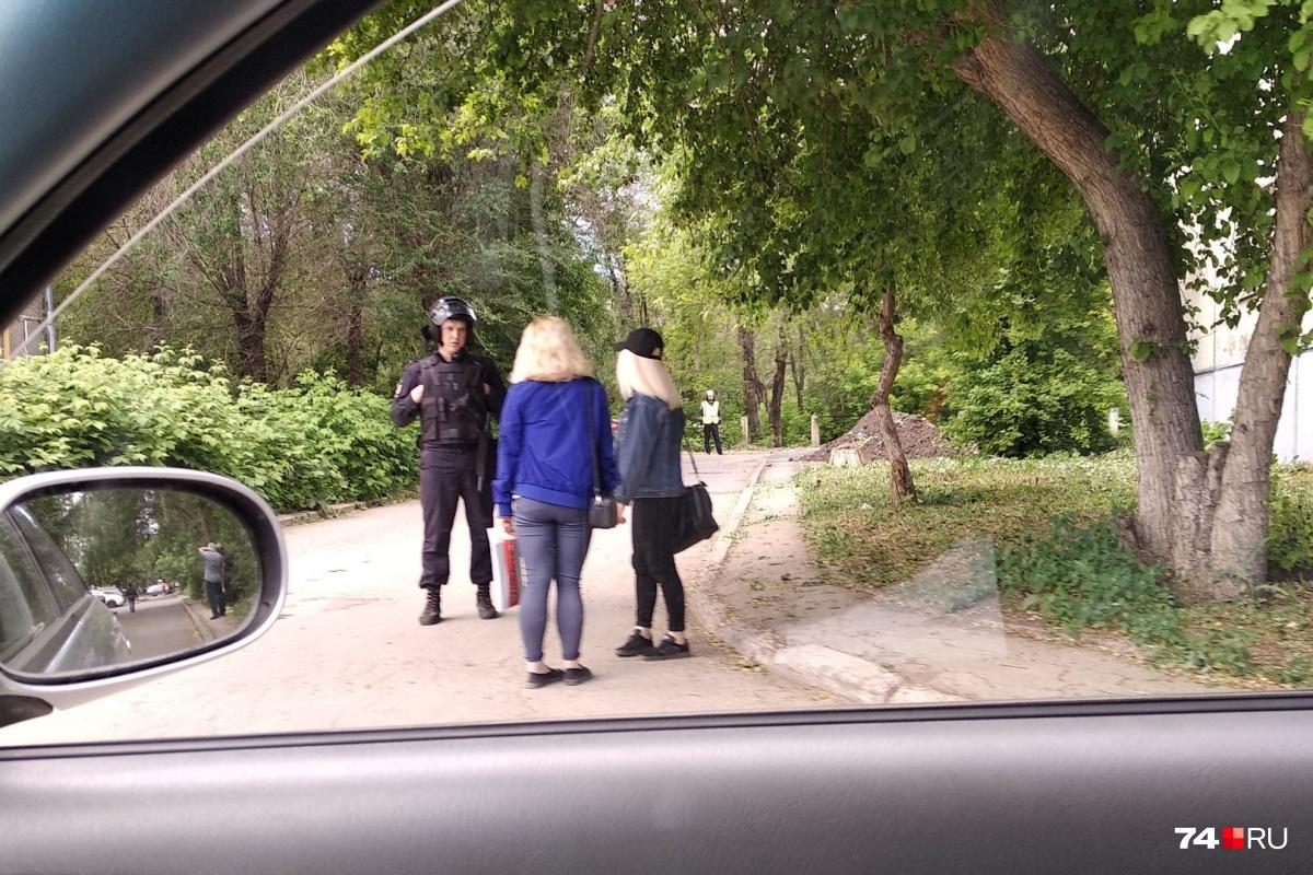 В этом жилом квартале Магнитогорска находится техникум