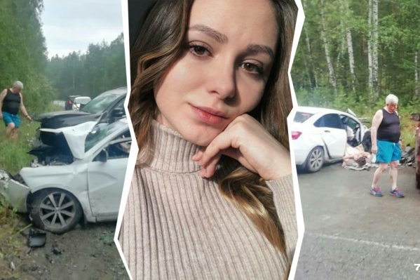 На 18-м километре трассы Байрамгулово — Новоандреевка столкнулись Lexus Андрея Косилова и Lada Vesta с молодыми людьми из Екатеринбурга