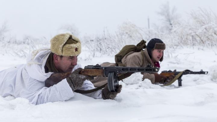 Марш-бросок на 12 километров: под Волгоградом заморозили и пленили немецких солдат