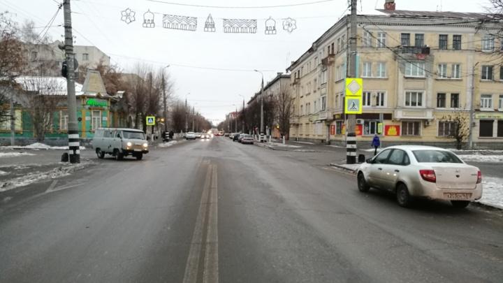 В центре Сызрани водитель «Гранты» сбил 10-летнюю девочку на «зебре»